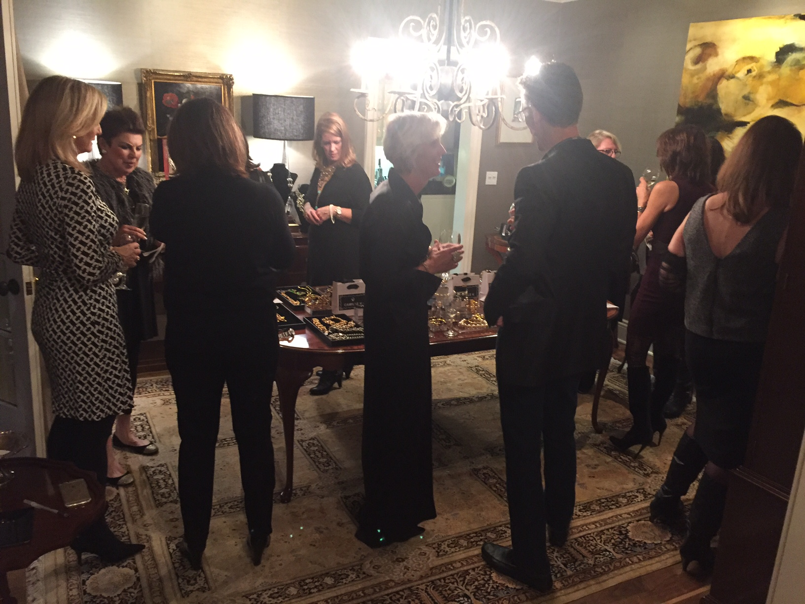 gathered for Holiday Trunk Show Jewelry Season