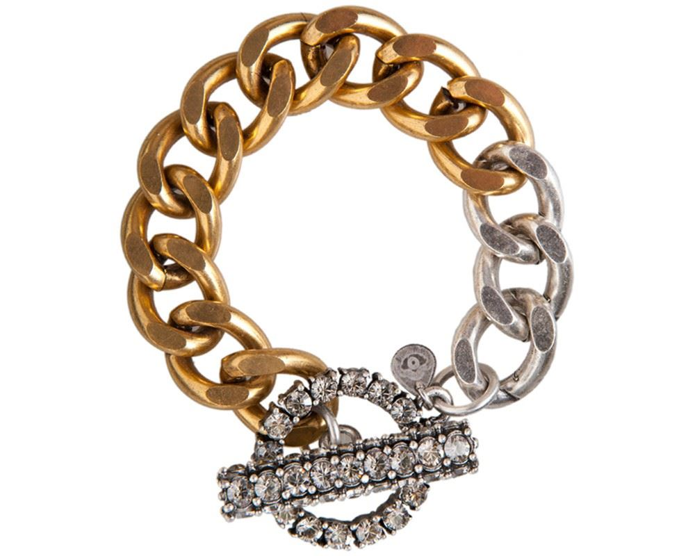 Picture of STELLA TWO TONE BRACELET II