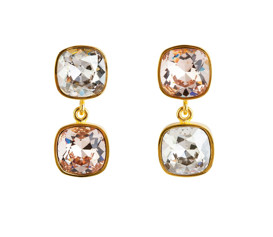 Picture of BEVERLY TWO-TONED EARRINGS