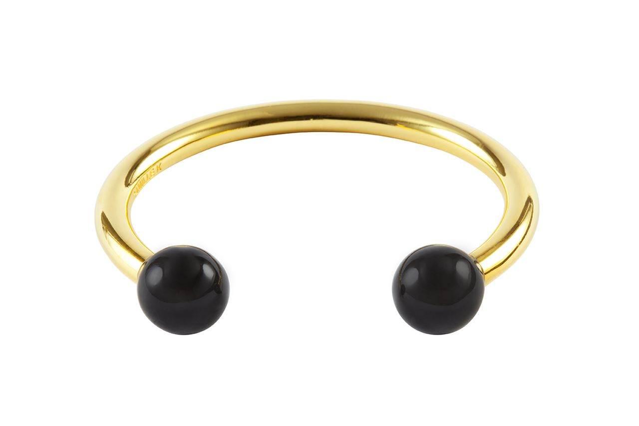 Picture of PANTONE BLACK PERLE CUFF