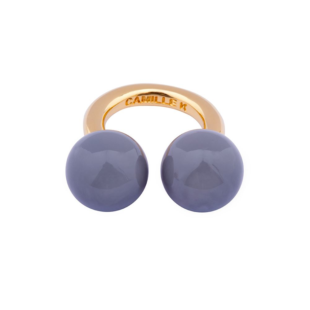 Picture of PANTONE GRAY PERLE RING