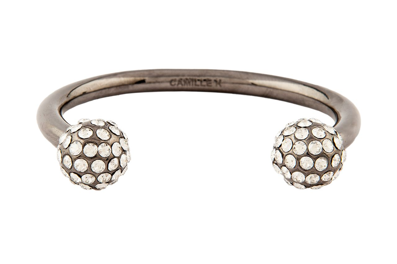 Picture of  SIGNATURE CRYSTAL PAVE PERLE CUFF