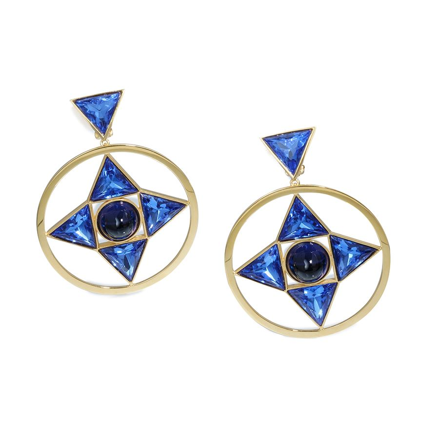 Picture of BILTMORE MEDALLION EARRINGS