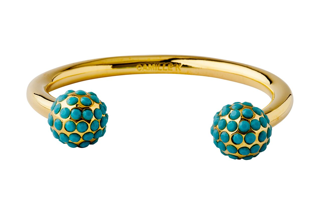 Picture of SIGNATURE TURQUOISE PAVE PERLE CUFF