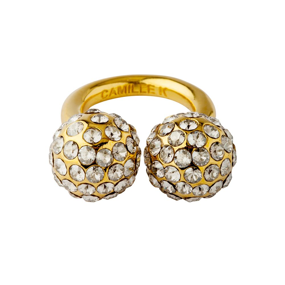 Picture of Signature Crystal Pave Perle Ring