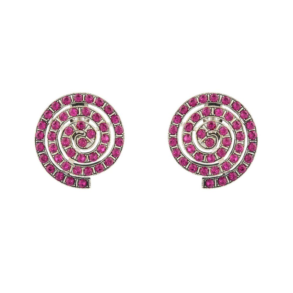 Picture of EMPIRE SPIRAL CLIP EARRINGS