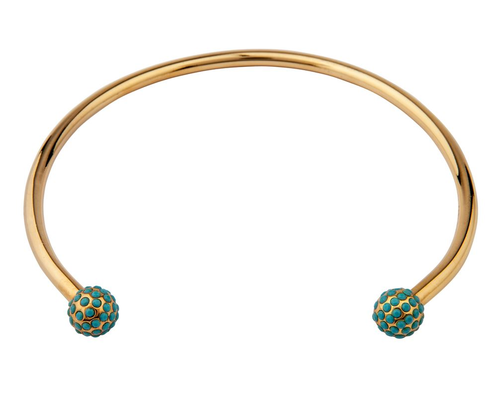 Picture of SIGNATURE TURQUOISE PAVE PERLE CHOKER
