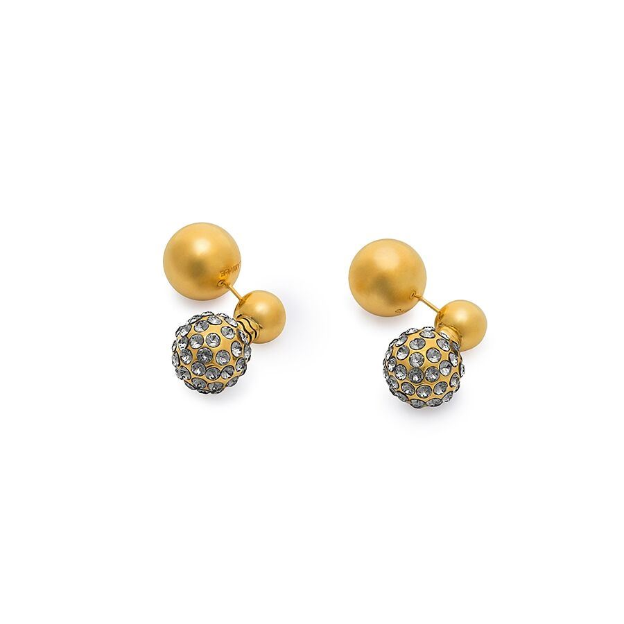 Picture of SIGNATURE SHORT REVERSABLE PAVE EARRINGS